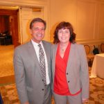 Dave Masterson (CEO - Sampson Regional) and Yvonne Hughes (CEO - CCHA)