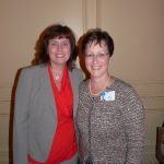 Yvonne Hughes with Ruth Glaser (President - Pender Memorial Hospital)